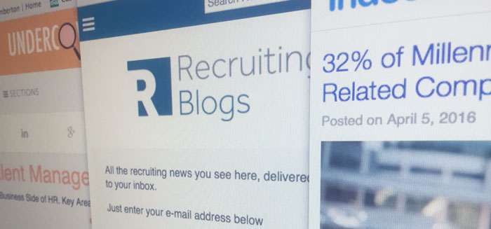 Why you should be reading recruitment marketing blogs