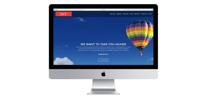 Sky Launches New Website Design & Blog